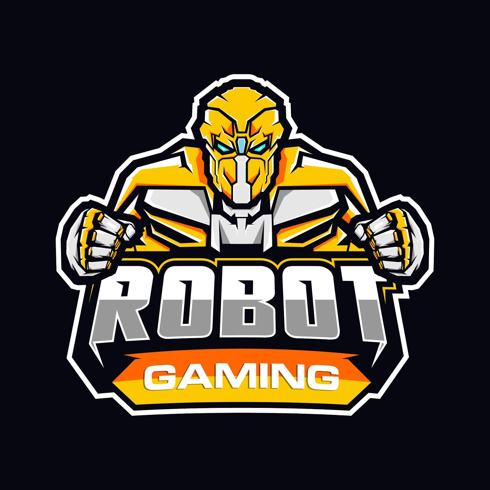 Gaming Robot Logo Free Download Vector CDR, AI, EPS and PNG Formats
