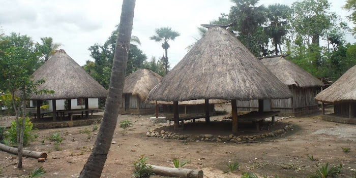 Traditional Beehive Huts found in West Timor | Krys Kolumbus Travel Blog