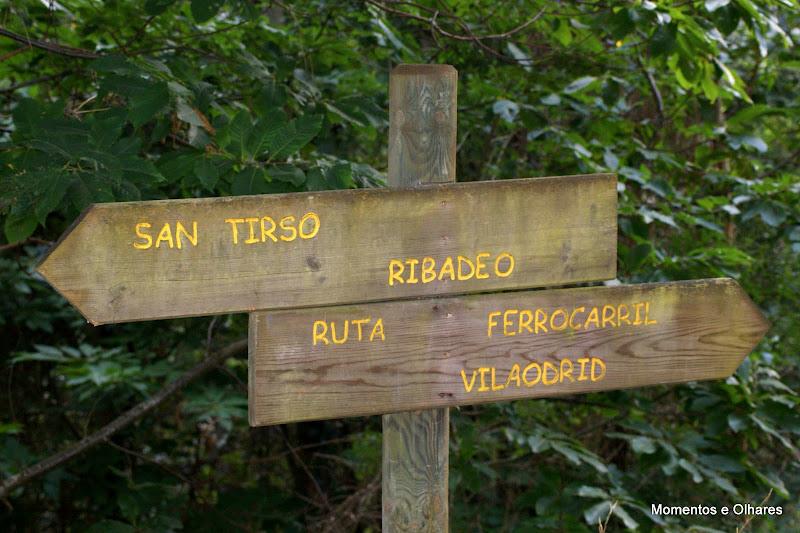 Ruta del Ferrocarril Vagadeo Lugo, Astúrias