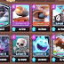 Clash Royale four new cards  : Mega Knight,  Cannon Cart,  Flying Machine &  Skeleton Barrel : June 2017 Update