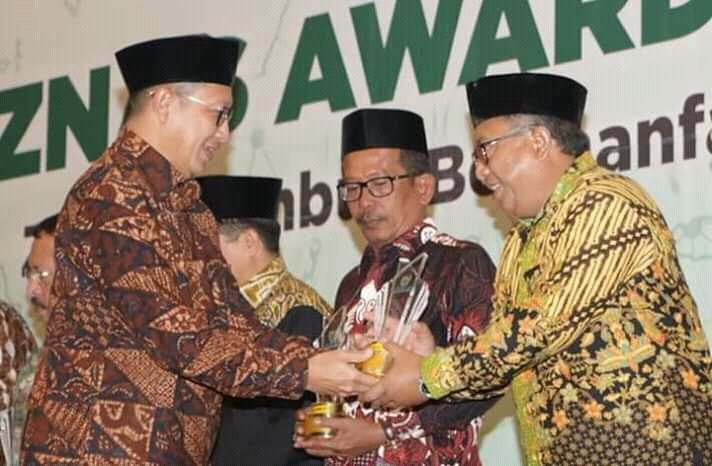 Marwan Hamami Terima Baznas Award 2019 Tingkat Nasional