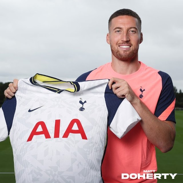 Transfer Updates: Spurs Signs Full Right Back Doherty From Wolverhampton