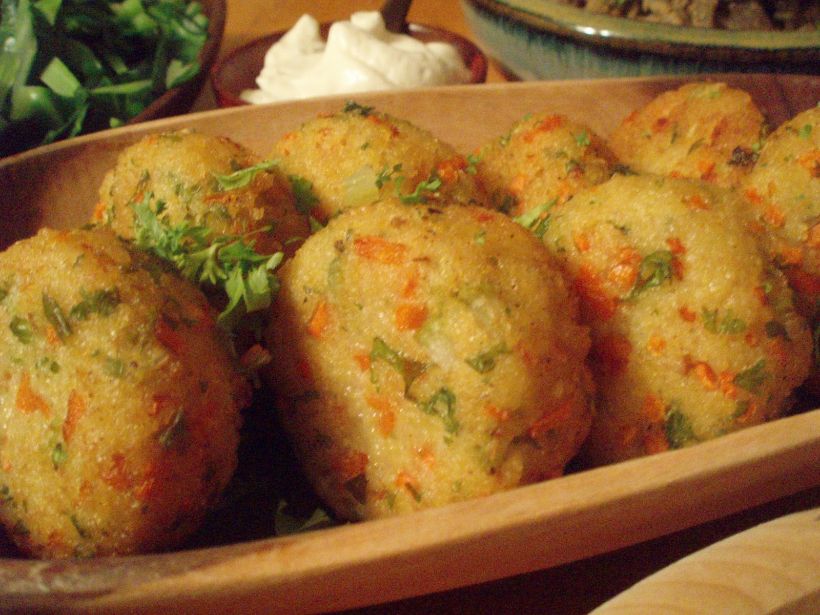 ... james martin s salmon croquettes curry eggplant croquettes