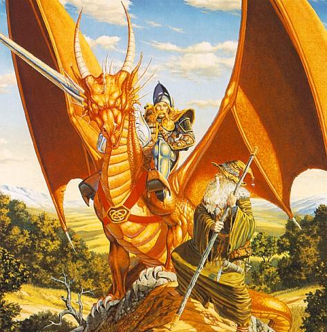 Wizard And Dragon Rider, Magick Warriors 5