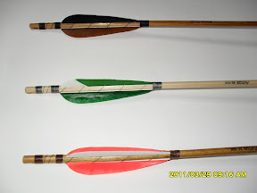 Our Arrows are very resisting Laminated arrows!