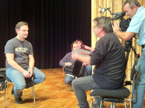 Interview with Filip and Thomas Radigk (BR TV)