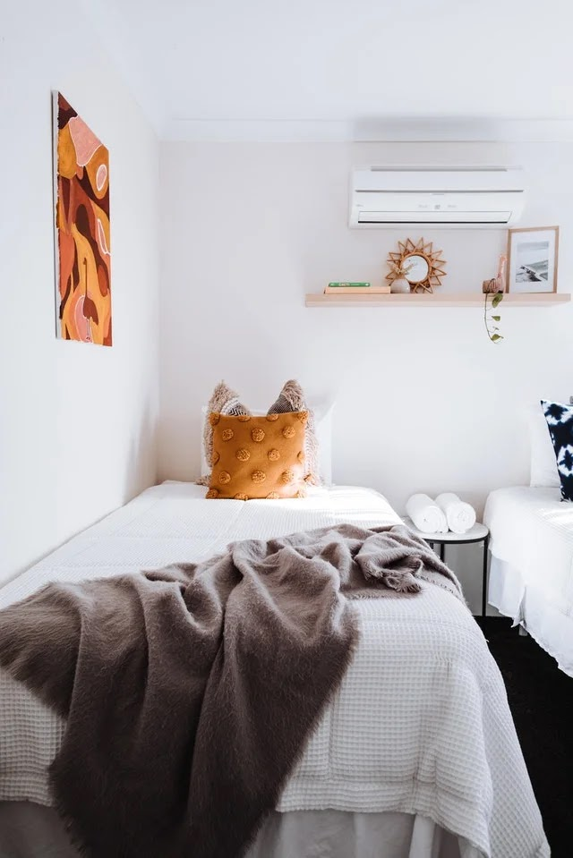 Air conditioner in a room