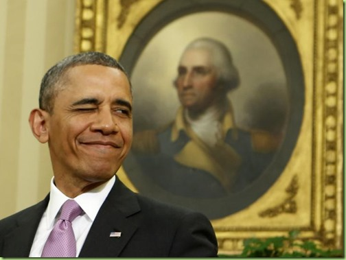 barack george washington