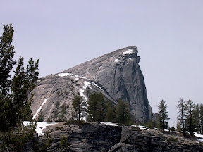 Half Dome, from 'Base Camp 8'