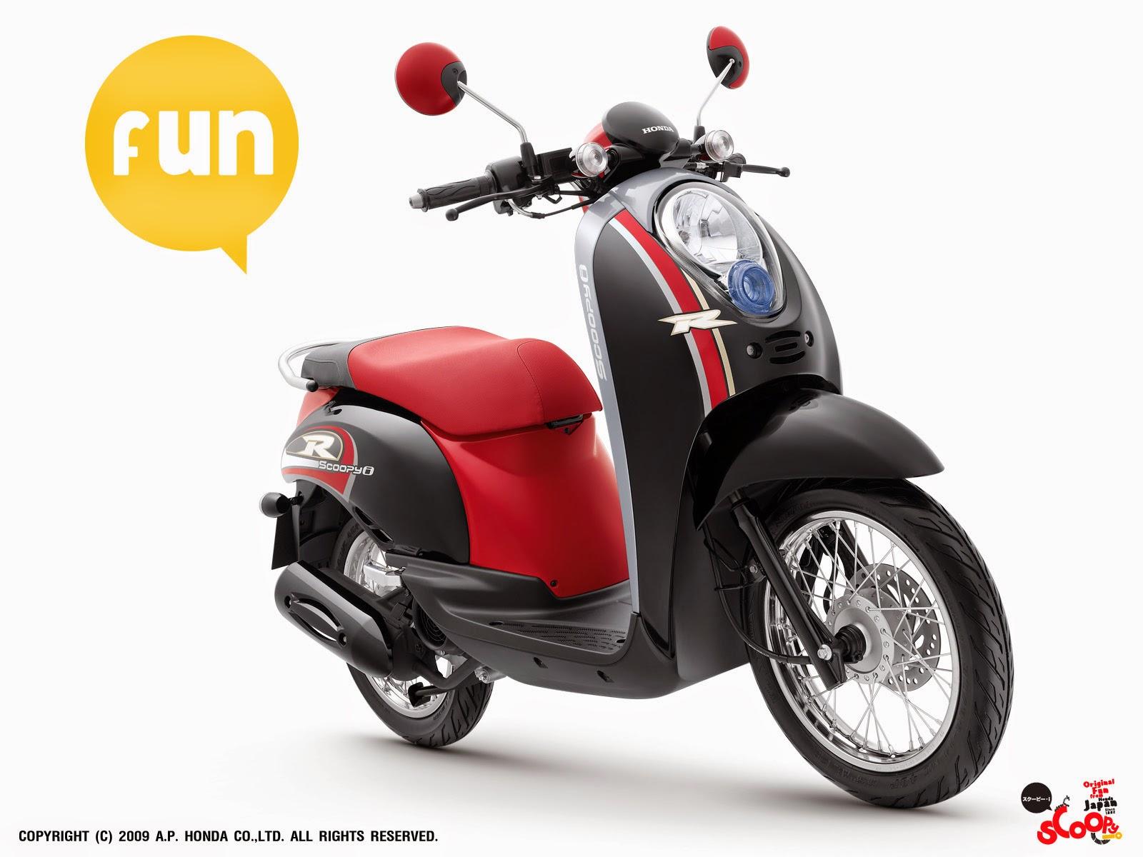 Modifikasi Motor Honda Scoppy  Gambar Modifikasi Honda Terbaru