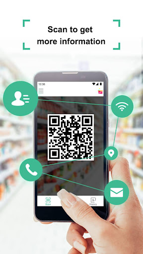 Screenshot for Coreader- QR Code & Barcode Scanner in United States Play Store