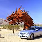 Железные фигуры в пустыне Анза-Боррего