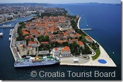 Croatia Online - Zadar Aerial