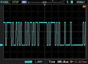 Random noise output form 76477 sound chip.