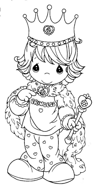 King precious moments coloring pages coloring pages for Precious moments halloween coloring pages