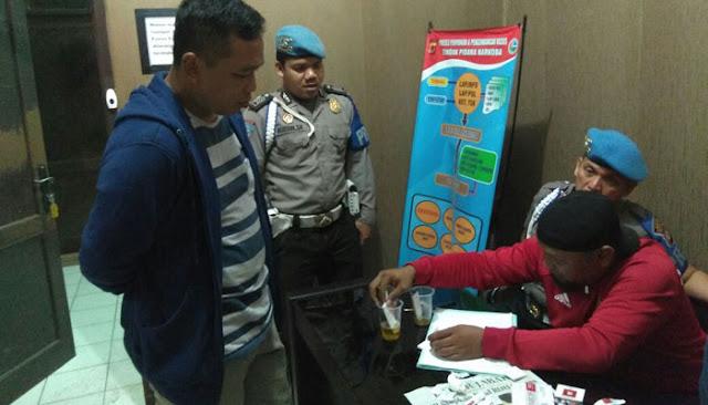 Kejutan tès urin jang para calon Kades di Purwakarta