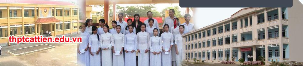 Diễn đàn HS Trung học phổ thông Cát Tiên