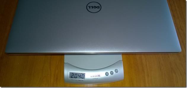 XPS 15 2.040kg