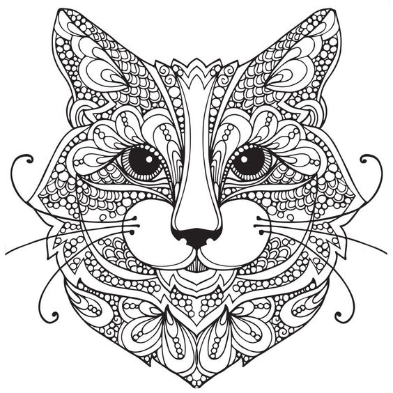 Cat-head-tattoo-design