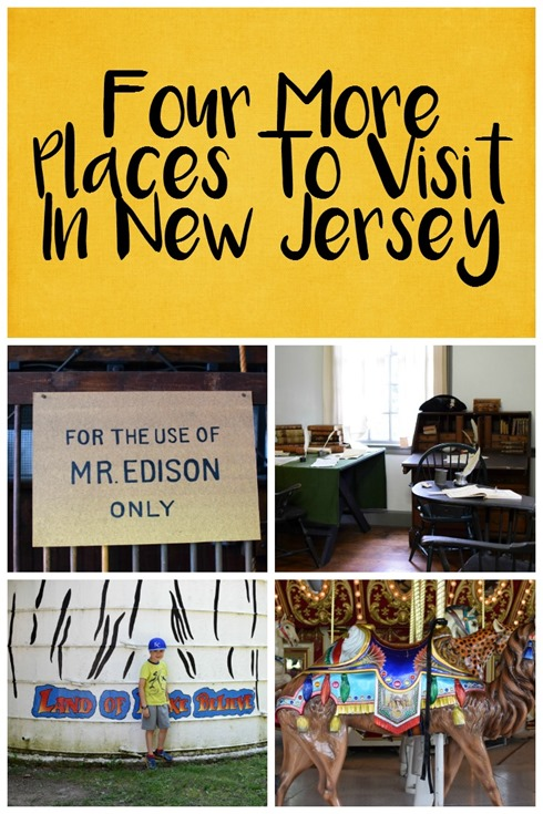 Four More Places To Visit in New Jersey