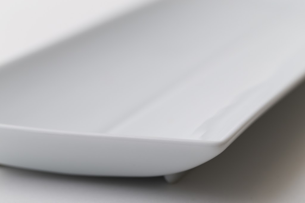 Times Rectangle Plate (L)