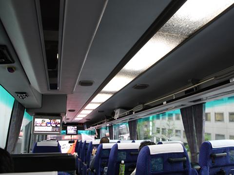 JR九州バス「桜島号」 8658 車内 その2