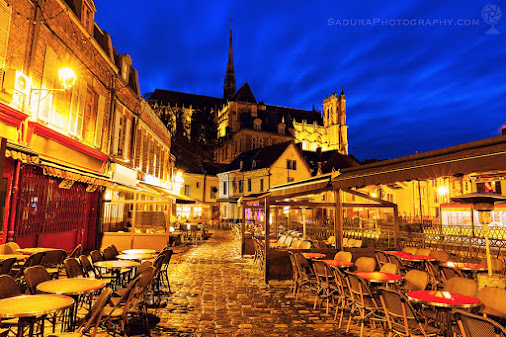 Cathedral of Our Lady of Amiens Amiens, Nord-Pas-de-Calais-Picardy, France  saduraphotography.com  #...