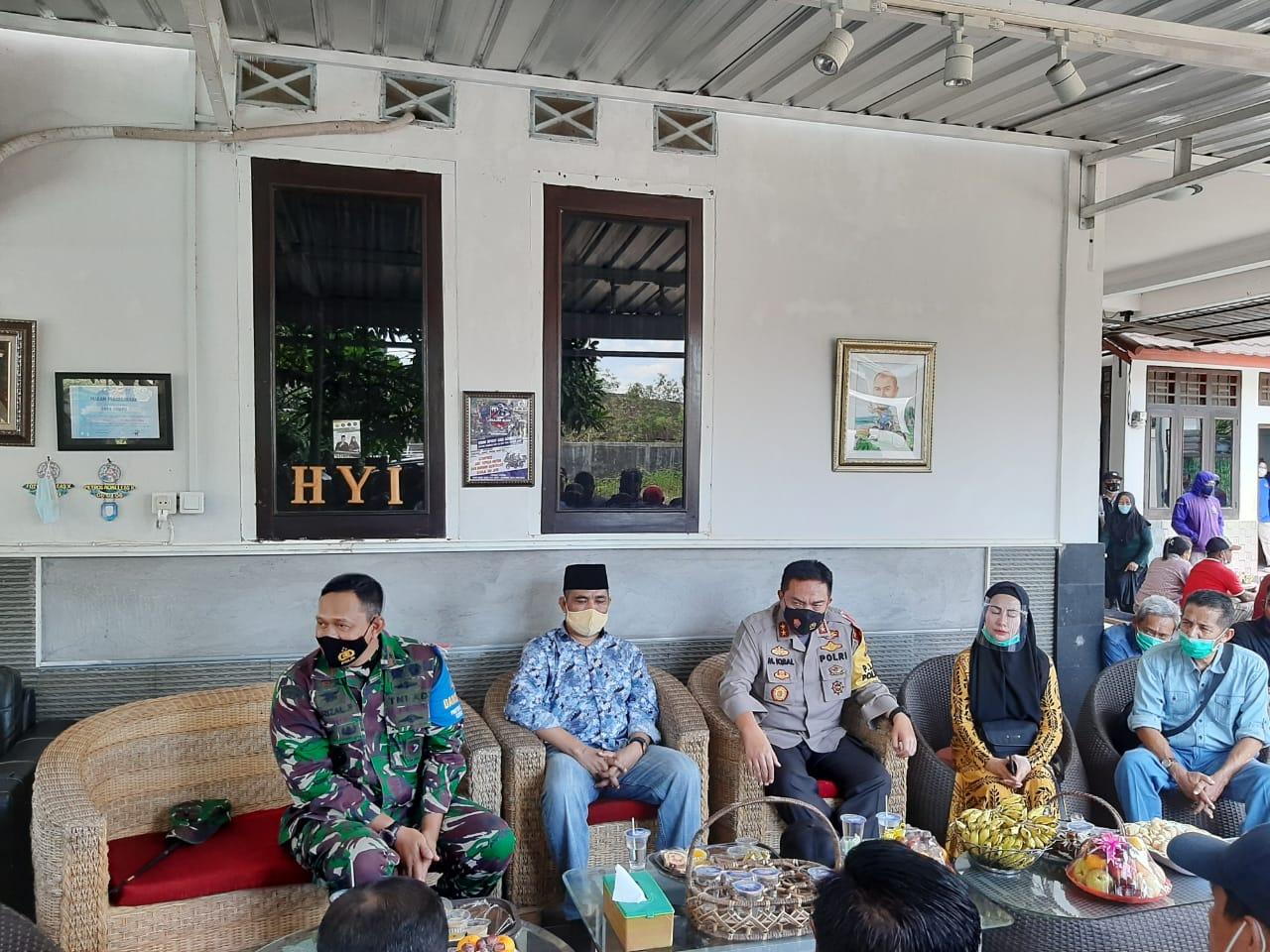 Kapolda NTB dan Danrem 162/Wirabakti bersilaturahmi ke Posko SUKA