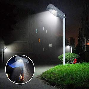199 Lei Lampa Solara Led Cu Senzor De Miscare Iluminat Stradal Target Deal