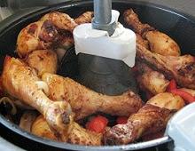 Pilons de poulet à l'actifry
