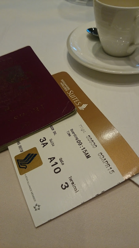SIN%252520PVG 15 - REVIEW - Singapore Airlines : The Private Room First Class Lounge [Breakfast Service], SIN T3