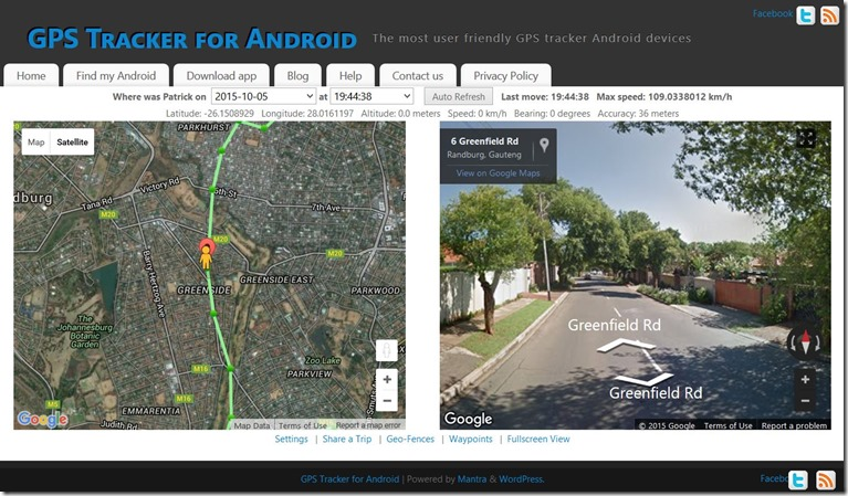 android gps tracker