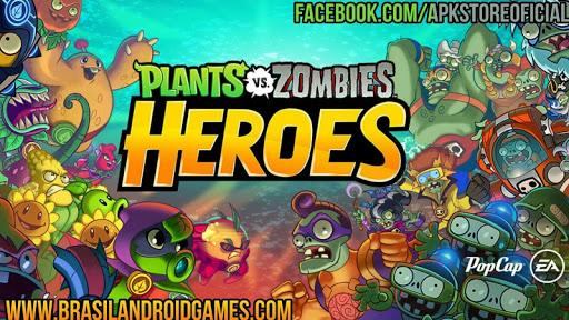 Plants vs. Zombies Heroes Imagen do Jogo