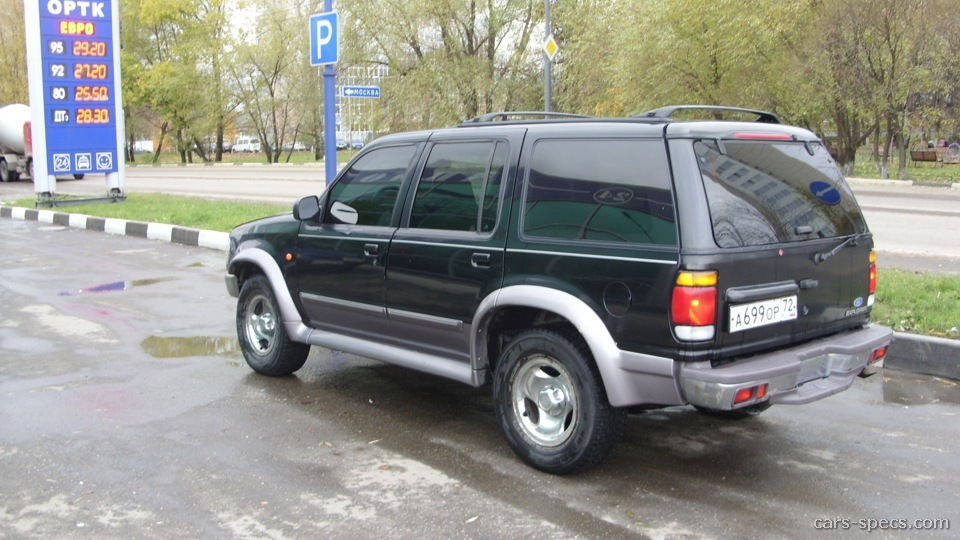 2001 ford explorer suv specifications pictures prices. Black Bedroom Furniture Sets. Home Design Ideas