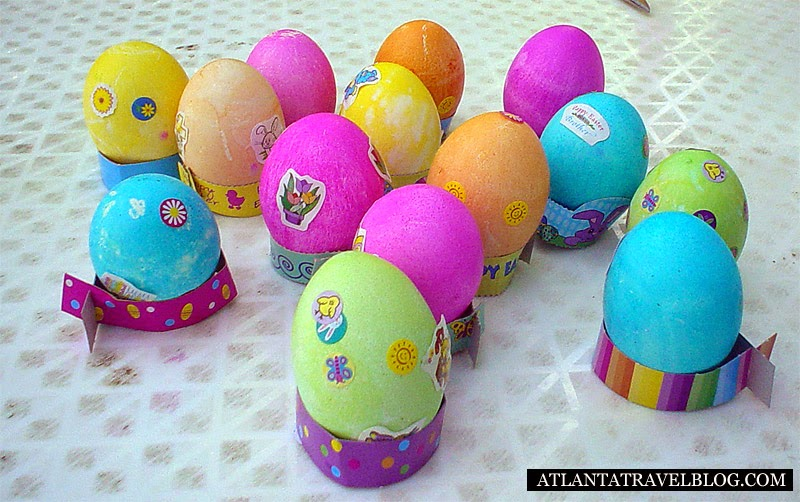 Охота на пасхальные яйца Easter egg hunt