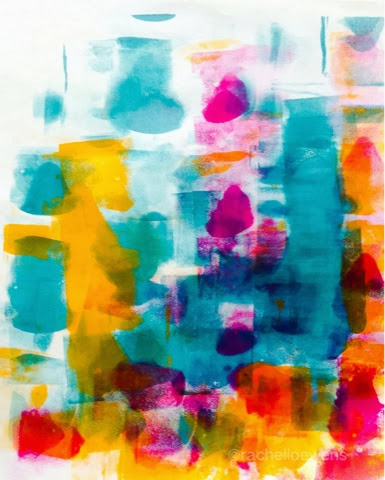 Rachel Loewens: abstract acrylic painting