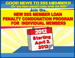 SSS amnesty condonation program 2012
