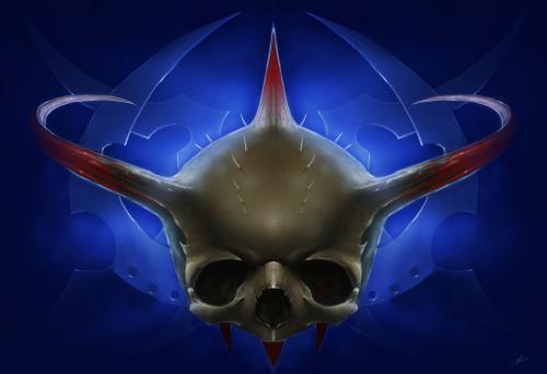 Quake 3 Skull, Death