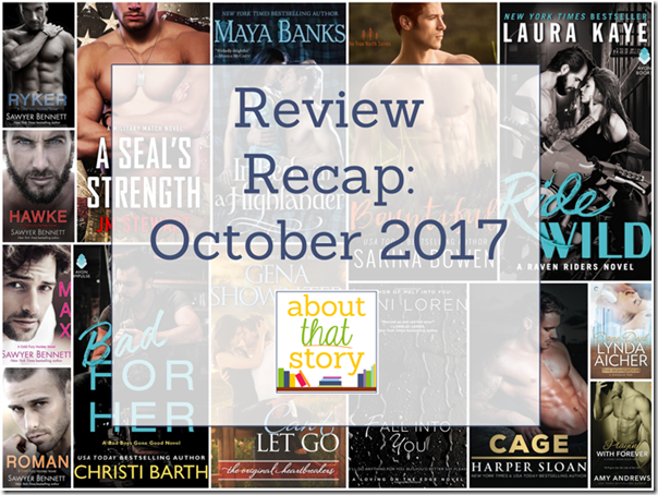 Review Recap: October 2017 | About That Story