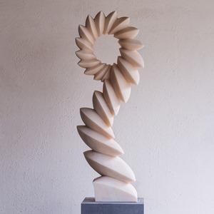 Caper: PORTUGUESE MARBLE, 2013: W 34cm, H 120 cm, D 20 cm; SOLD