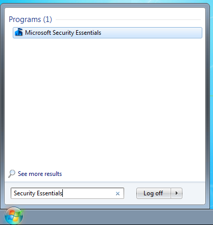 google microsoft security essentials download