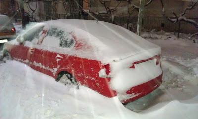 Snow off!