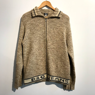 Dolce & Gabbana Zip Up Sweater