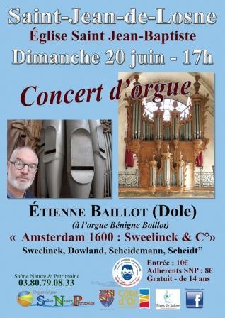 pour la fête de la musique, retrouvez Etienne Baillot