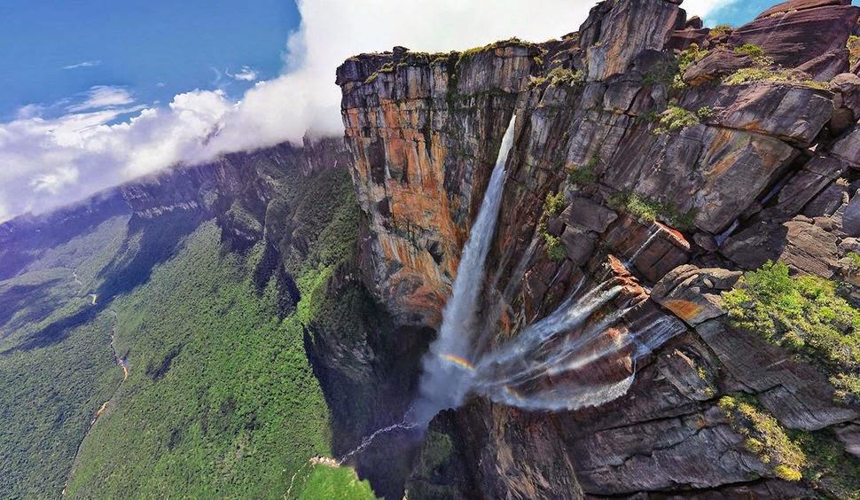 Анхель, Венесуэла, Красивые водопады планеты