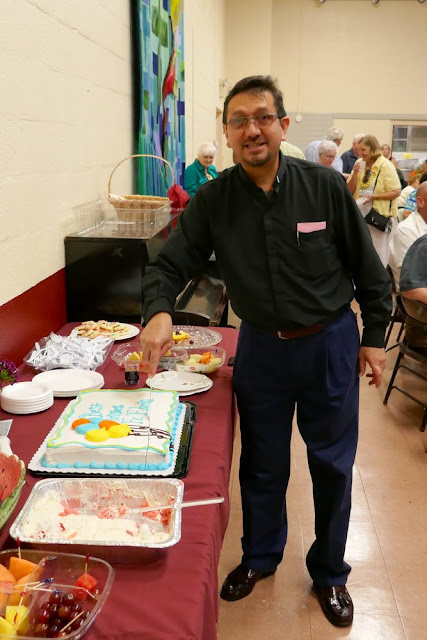Farewell Party for Fr. Edwin on July 30, 2016