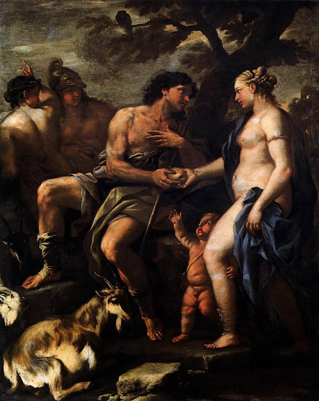 Luca Giordano - The Judgment of Paris