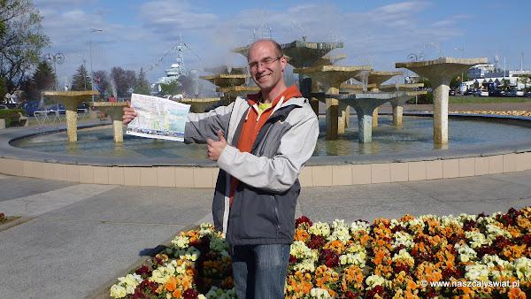 Tomek z mapką Ruszaj w Drogę - Gdynia w jeden dzień
