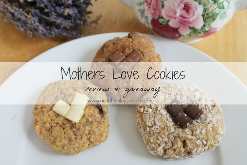 mothers love cookies giveaway review