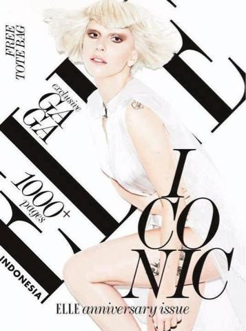 Gaga es portada de Elle Indonesia Blogger-image--1197398752